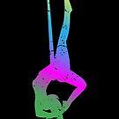 Aerial Yoga Shirt Hammock Modern Yoga Gift von mjacobp