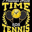 Time For Tennis Sports von mjacobp