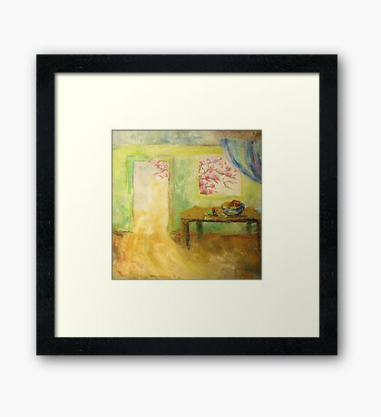 Light in the door Framed Print