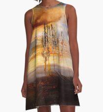Favourite Artists - Salvador Dali - The Way to Pubol A-Line Dress
