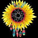 Dream Catcher Sunflower Dreamcatcher von mjacobp