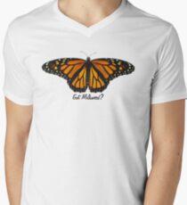 Monarch Butterfly - Got Milkweed? Men's V-Neck T-Shirt