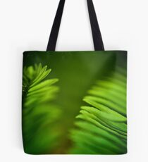 Delicate green leafs...Got 2 Featured Works Tote Bag