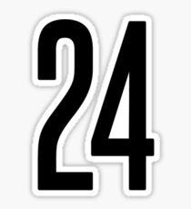 24 Sticker