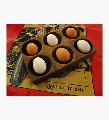 Eggs Taking it Easy Photographic Print