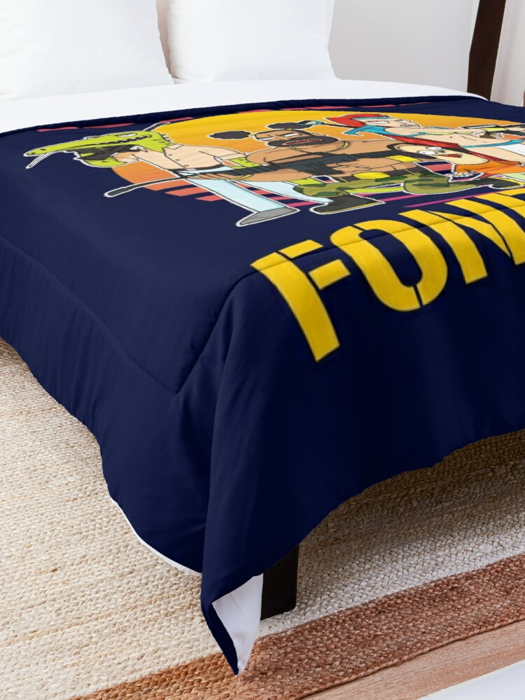 Alternate view of Rick and Morty Ball Fondlers TV Series T-shirt Comforter