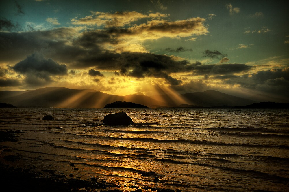 Lomond Light (3) by Karl Williams