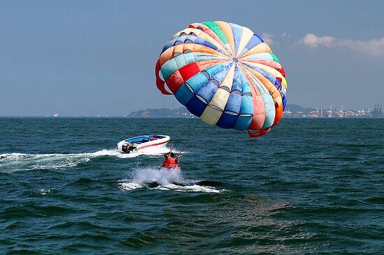 The thrill of watersports. by debjyotinayak