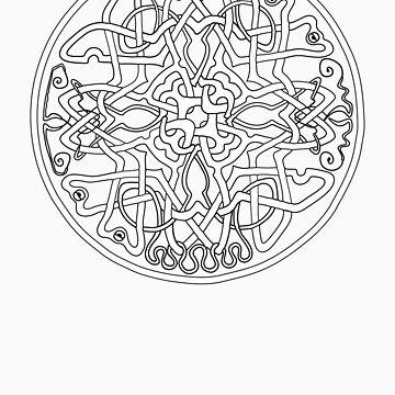 Knotwork Mandala by KKPeanut