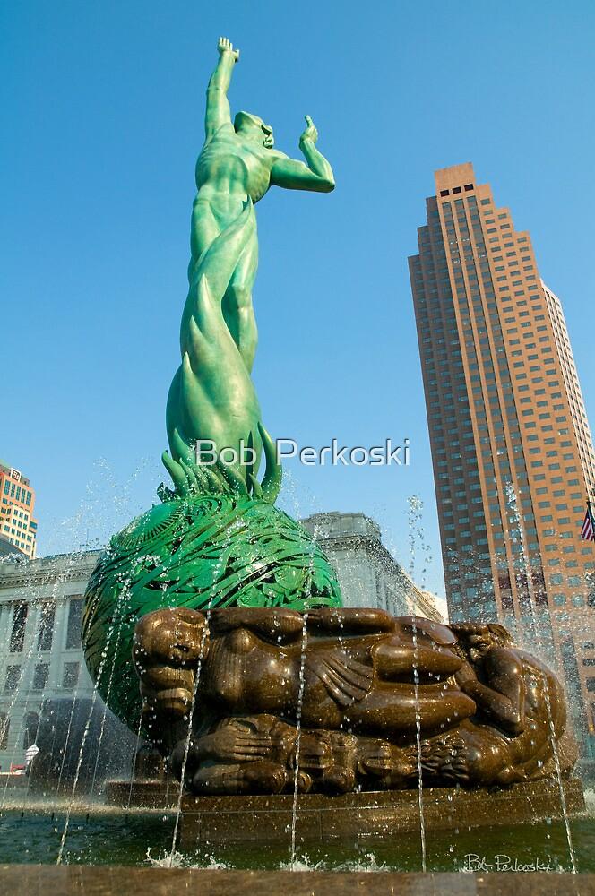 Fountain of Eternal Life by Bob  Perkoski