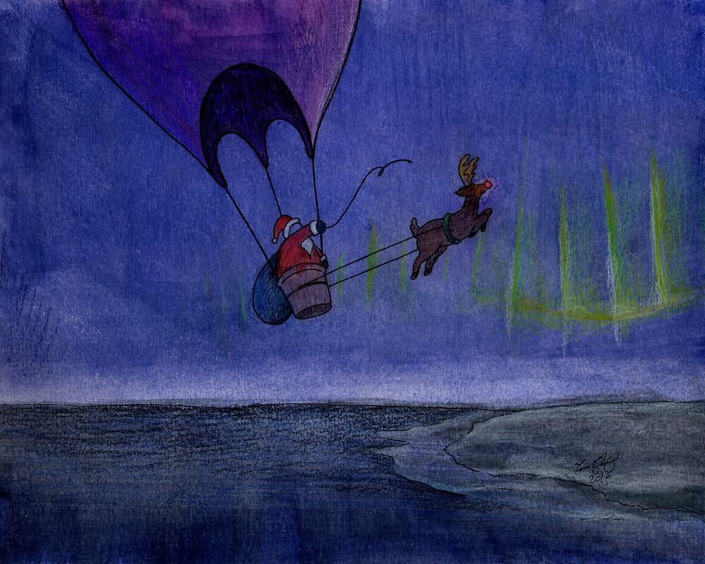 Santa's Sleigh by Tim Gorichanaz