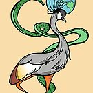 Bird, Snake and Globe Crest by Otter-Grotto