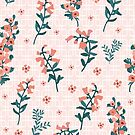 Pretty vintage florals by thatsgraphic