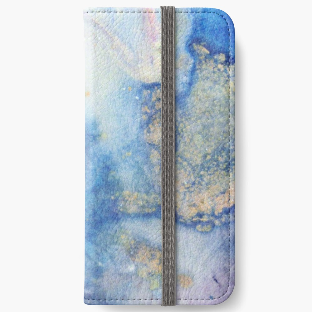 Moon Marble iPhone Wallet