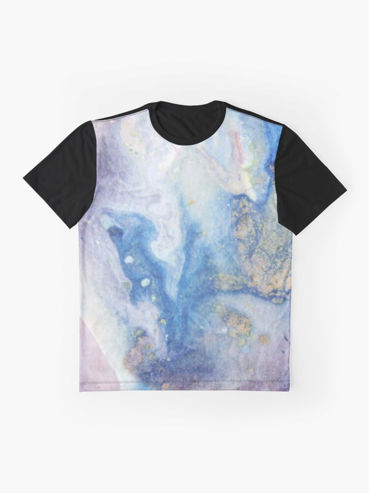 Alternate view of Moon Marble Graphic T-Shirt