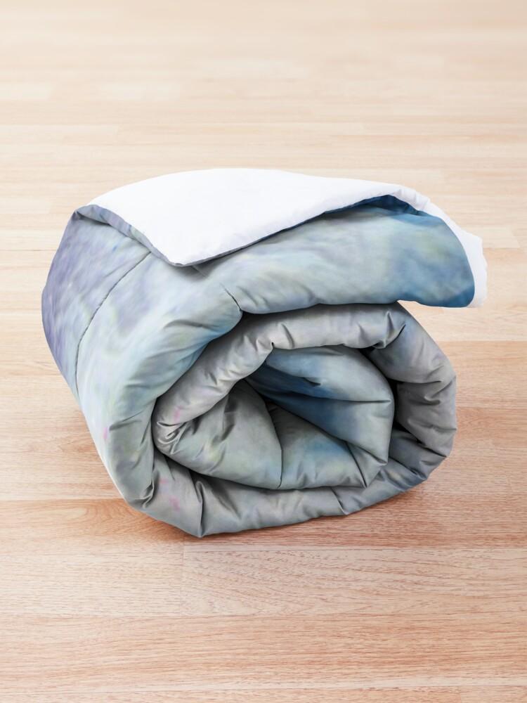 Alternate view of Moon Marble Comforter