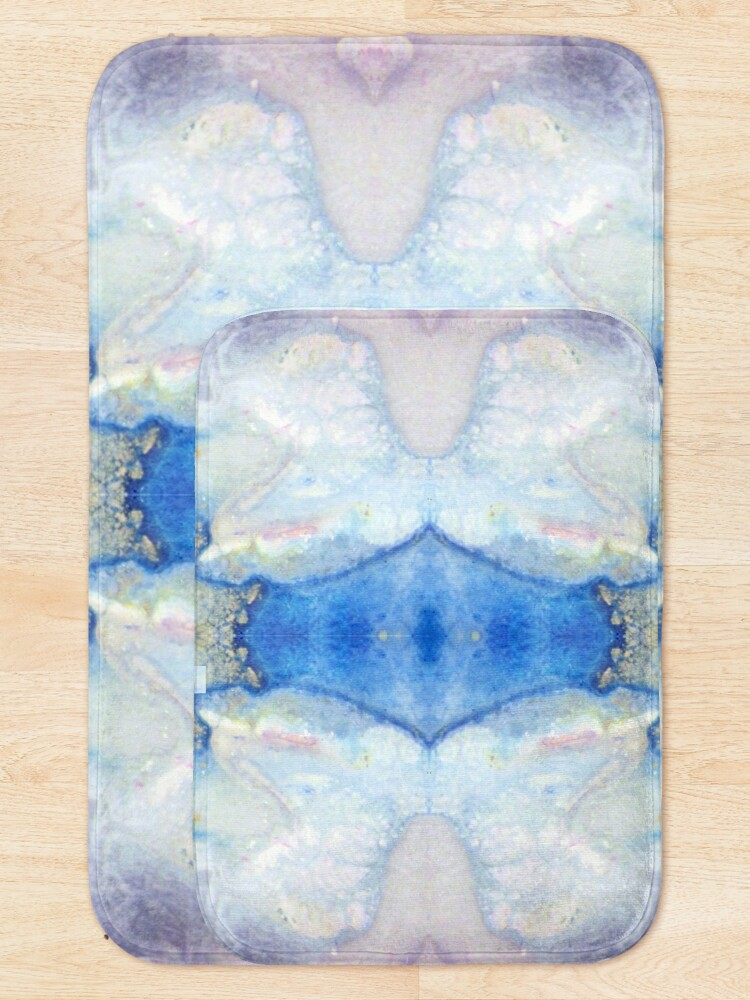 Alternate view of Moon Marble Bath Mat