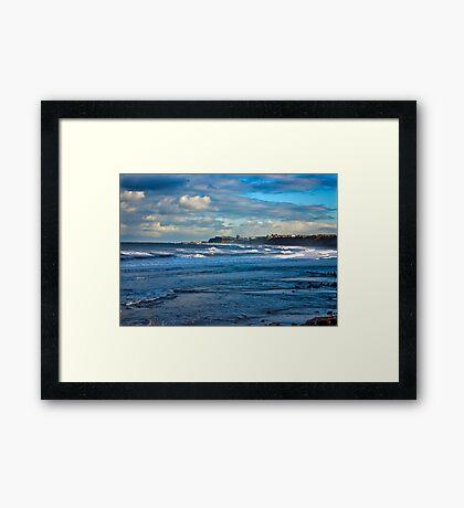 Seascape - Across the Bay Framed Print
