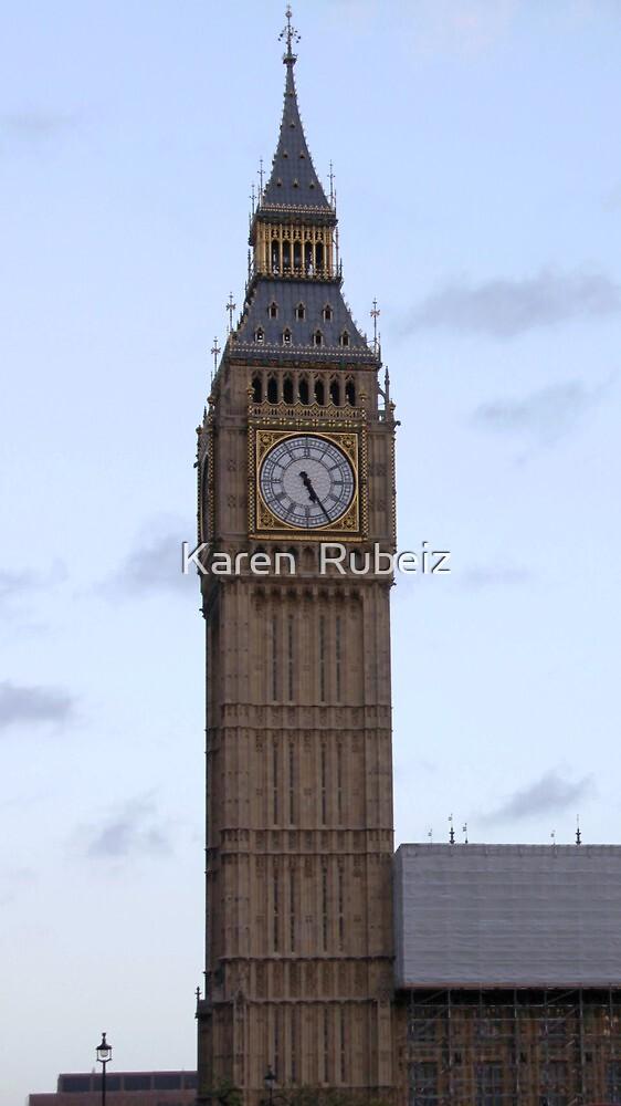 Big Ben by Karen  Rubeiz