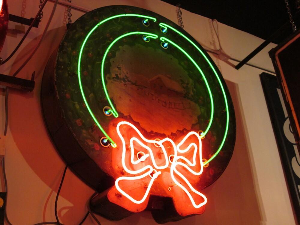 neon christmas by jack robinson