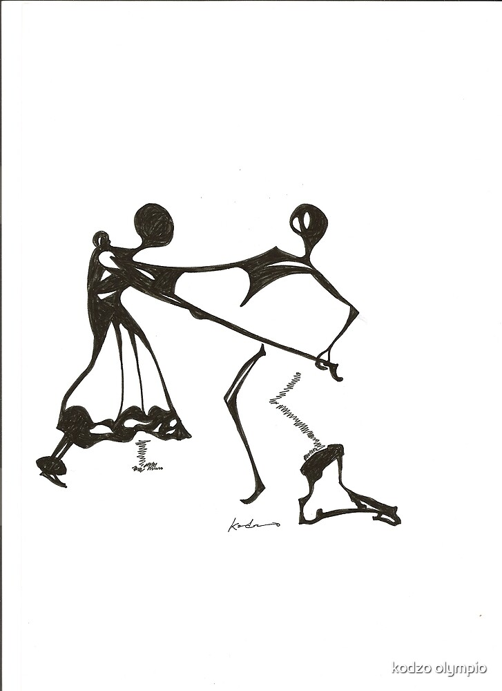 the dance by Kodzo olympio