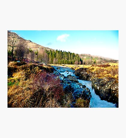 White Water on The River Duddon Photographic Print