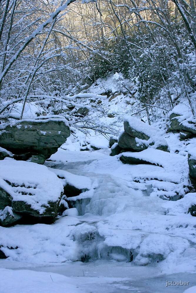 Frozen Stream by jstoeber