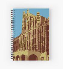 Waverly Hills Sanatorium Art Deco Spiral Notebook