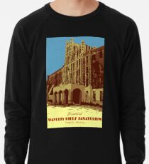 Waverly Hills Sanatorium Art Deco Lightweight Sweatshirt