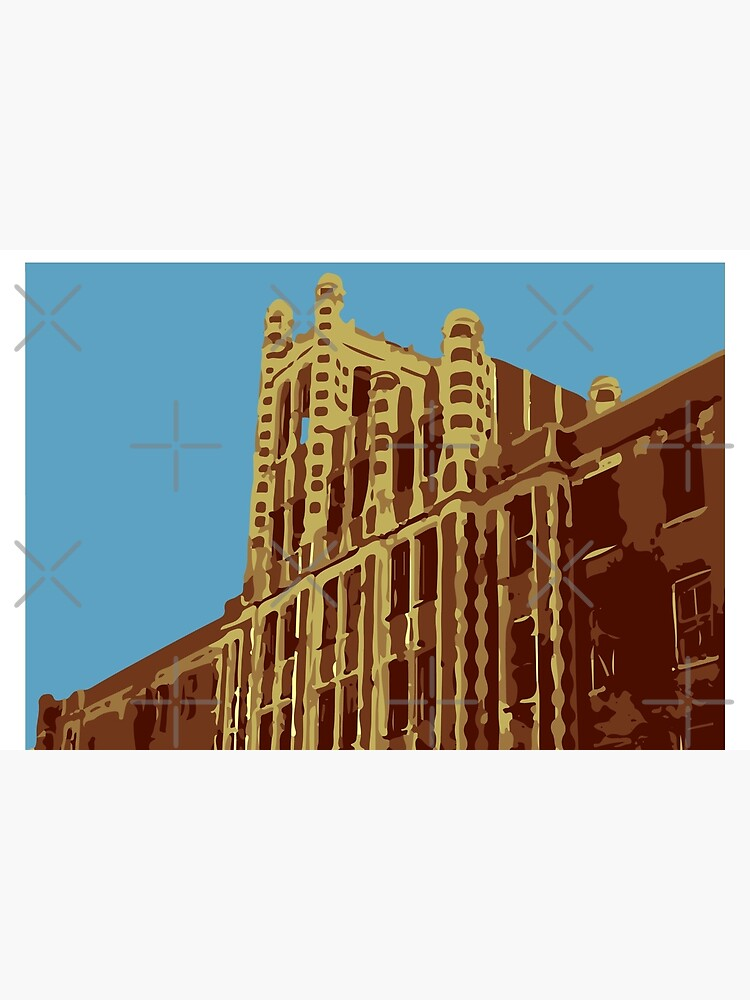 Waverly Hills Sanatorium Art Deco by GhostlyWorld