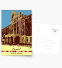 Waverly Hills Sanatorium Art Deco Postcards