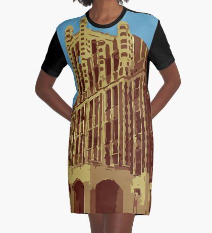 Waverly Hills Sanatorium Art Deco Graphic T-Shirt Dress