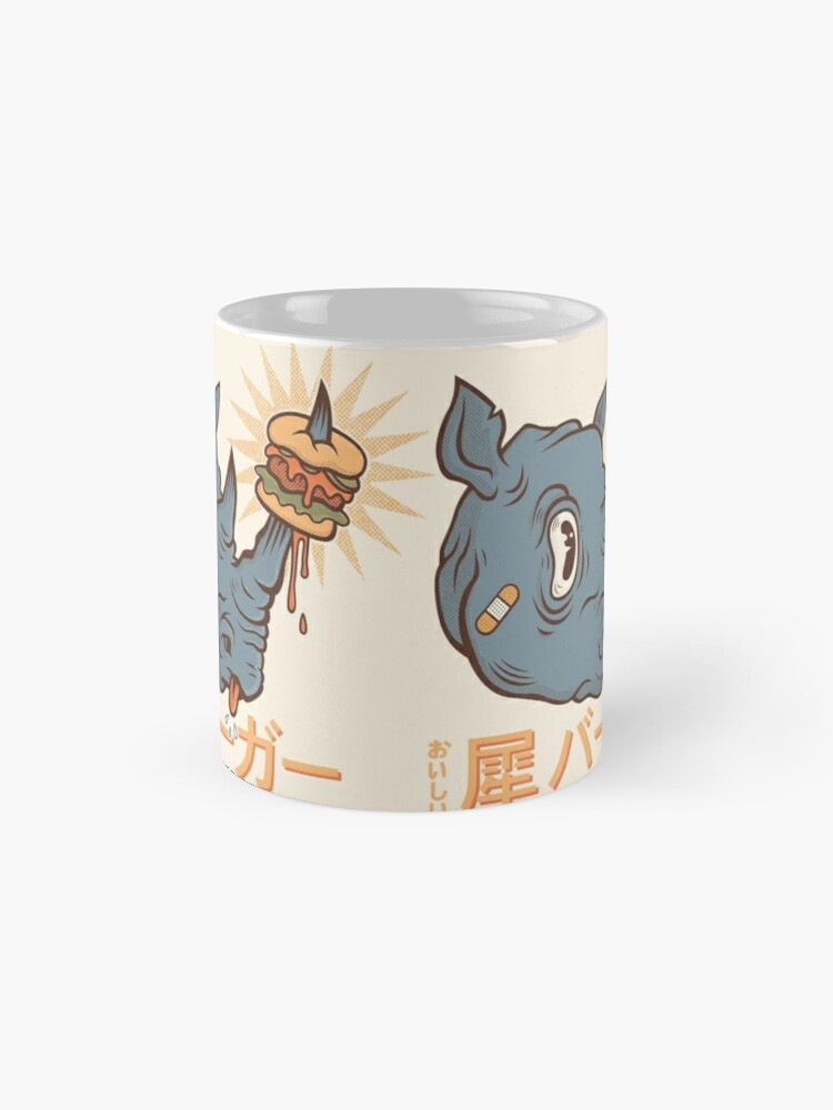 Alternate view of Rhino Burger Kanji Mug