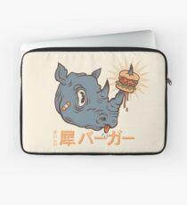 Rhino Burger Kanji Laptop Sleeve