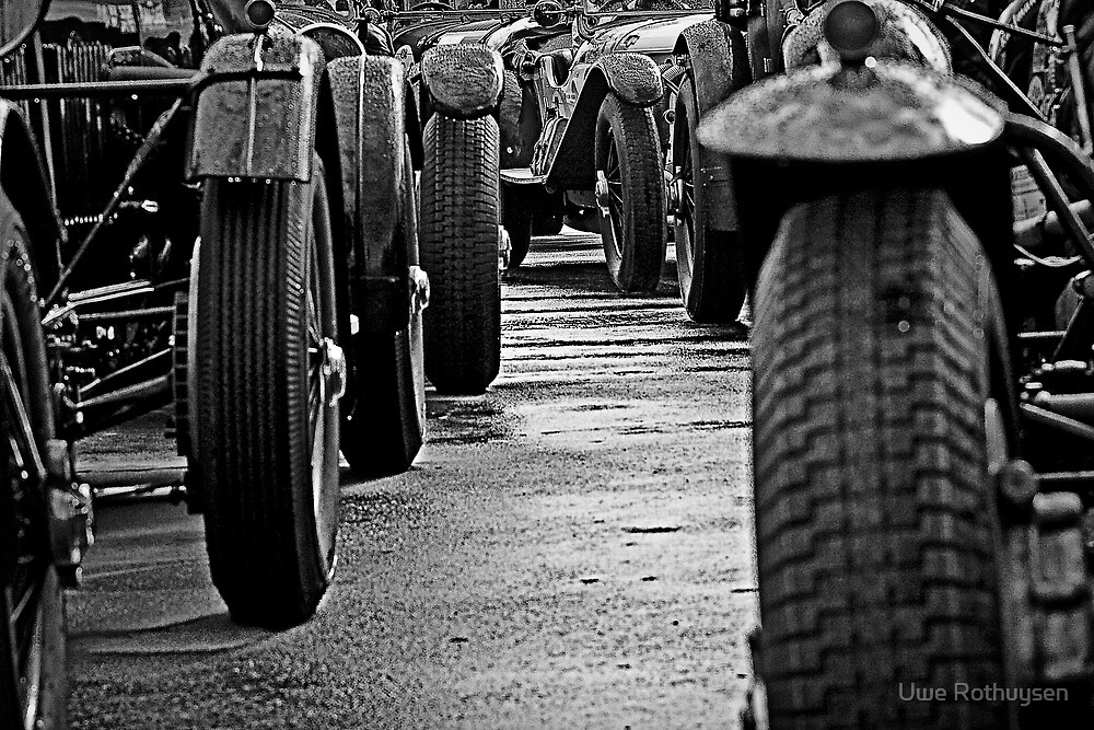 Lineup by Uwe Rothuysen