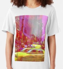 MOVING TO NEW YORK Slim Fit T-Shirt
