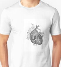there's an empty space inside my heart where the weeds take root T-Shirt