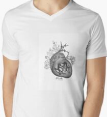 there's an empty space inside my heart where the weeds take root Men's V-Neck T-Shirt