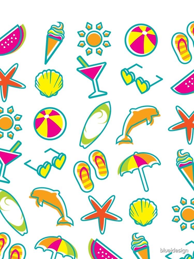 Summer Fun Beach Icons by blueidesign