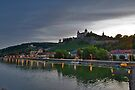 Wurzburg Germany Main River by photosbyflood