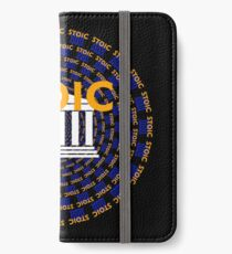 Stoic - Keep Stoic - Seek Happiness iPhone Wallet/Case/Skin