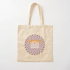 Stoic - Keep Stoic - Seek Happiness Cotton Tote Bag