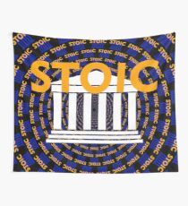 Stoic - Keep Stoic - Seek Happiness Wall Tapestry