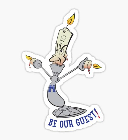 Be Our Guest Sticker