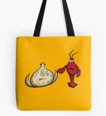 Lobster And Onions Tote Bag