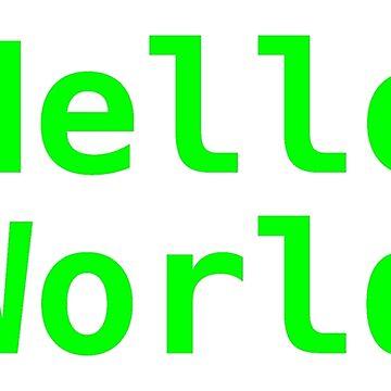 Hello world ! by marie-sterhl
