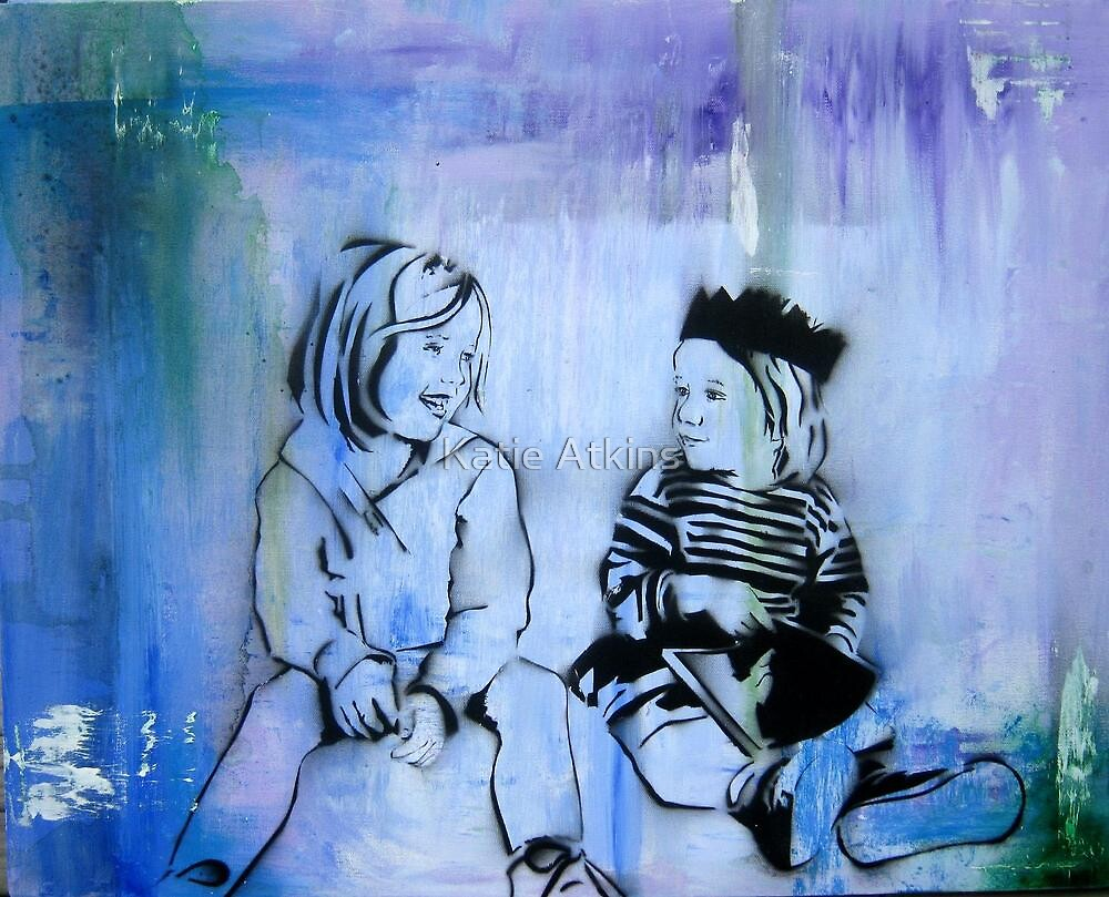 "Custom Alternative Portrait. ""Kids"" by Katie Robinson"