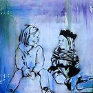 """Custom Alternative Portrait. """"Kids"""" by Katie Robinson"""