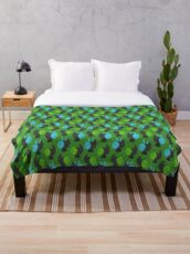 Jelly Jamm - Dodos Pattern Throw Blanket