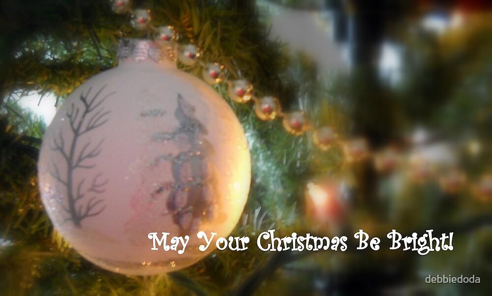 Have a Bright Holiday Card by debbiedoda